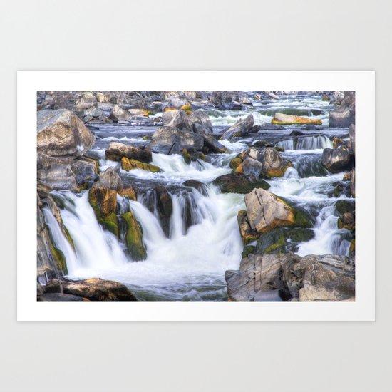 Great Falls Virginia Art Print
