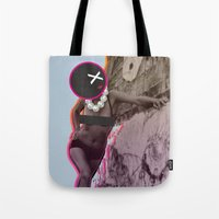 disco Tote Bags featuring Disco by cocktu