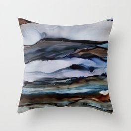 Brooding (Color Variant) Throw Pillow