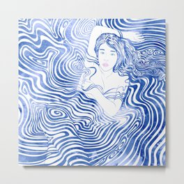 Water Nymph XLIV Metal Print