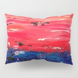 Crimson Sunset Pillow Sham