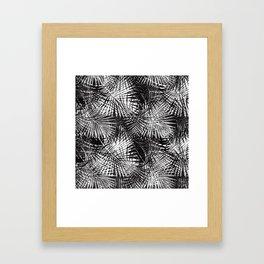 Palm Frenzy Framed Art Print