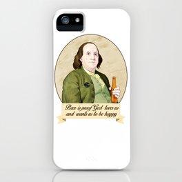 BEN AND BEER iPhone Case