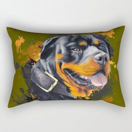 Rottweiler Rectangular Pillow