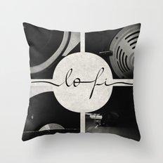 Lo-Fi // Analog Zine Throw Pillow