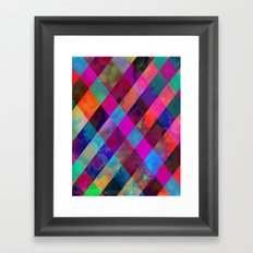Rio Plaid Framed Art Print