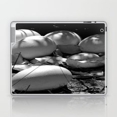 Life Finds a Way (black and white) Laptop & iPad Skin