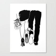 Till the love runs out Canvas Print