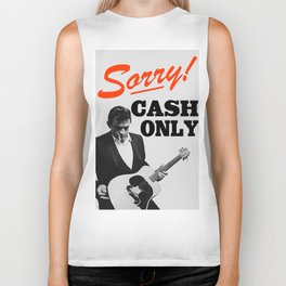 Sorry! Cash Only Biker Tank