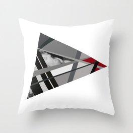 Venus of Triangle Throw Pillow