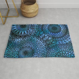 Shifting Currents - LaurensColour Rug