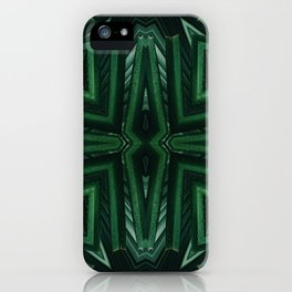 Kaleido Palm iPhone Case