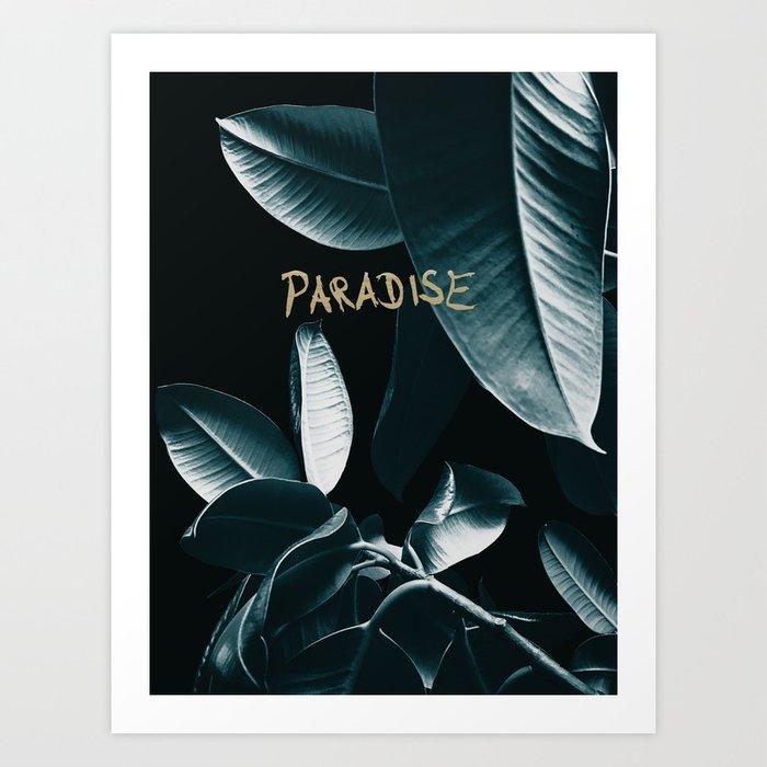 Ficus Elastica PARADISE #1 #decor #art #society6 Kunstdrucke
