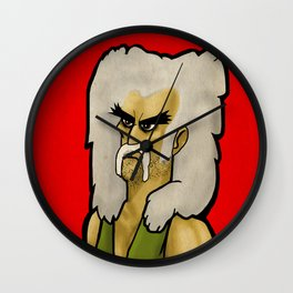 "Koltar of ""Koltar and Diggs"" Wall Clock"