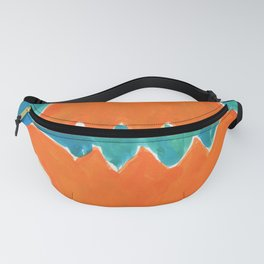 Oriental orange Fanny Pack