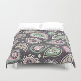 Soft romatic paisleys Duvet Cover