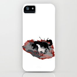 Cost of War iPhone Case