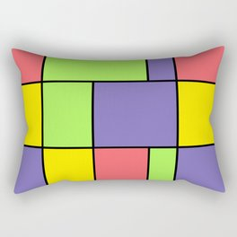 Art. The spring wind. Rectangular Pillow