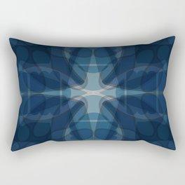 Serene Duality Rectangular Pillow