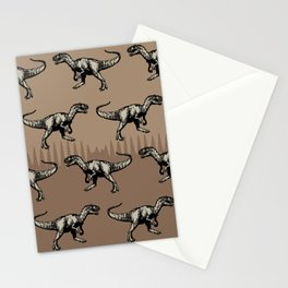 ChocoPaleo: Allosaurus Stationery Cards