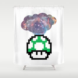 Get a Life Shower Curtain