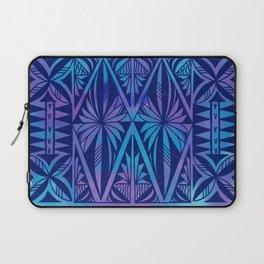 Tapa/Siapo Polynesian bark cloth art (Samoan) Laptop Sleeve