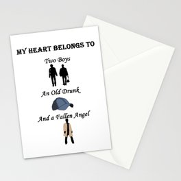 My Heart Belongs to Supernatural Stationery Cards