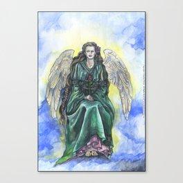"""Angel Rose"" - by Fanitsa Petrou Canvas Print"