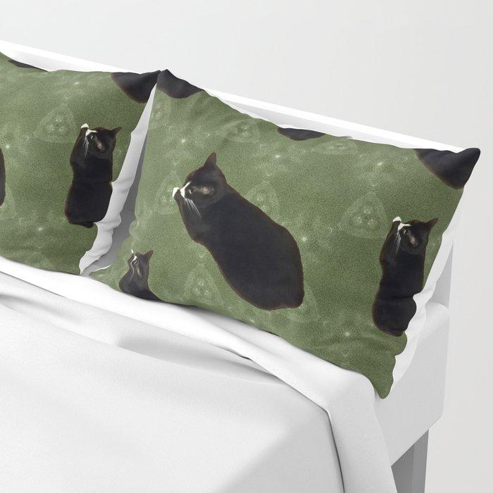 Cat photo pattern Pillow Sham