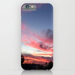 Summer Sunset Sky iPhone Case