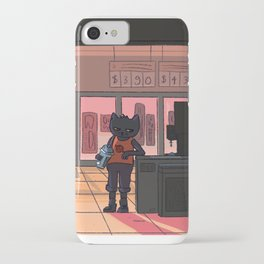 snack falcon's closing iPhone Case