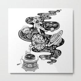 Cosmos Space Music Metal Print