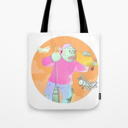 King Kong is a Rage Longboarder Tote Bag