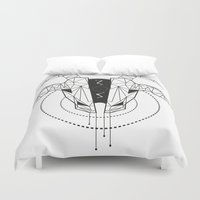 capricorn Duvet Covers featuring Capricorn by LydiaS