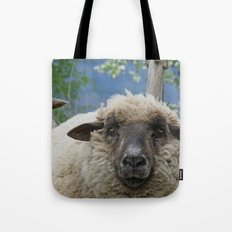 Disappointed sheep Tote Bag