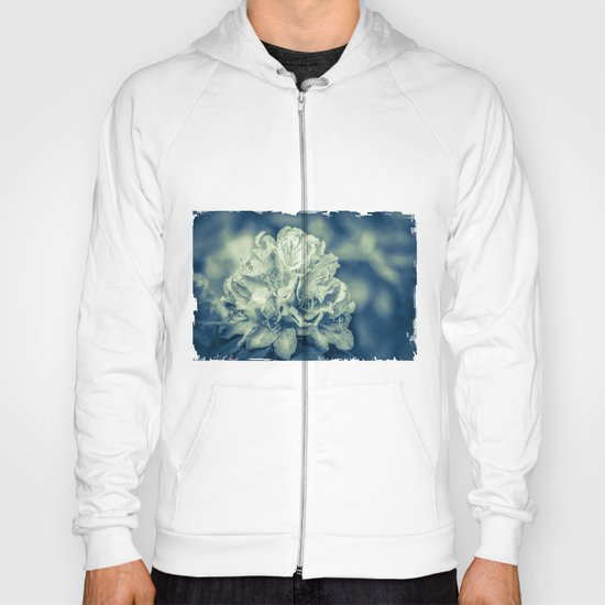 filigree - blue Hoody