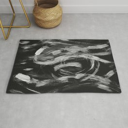 Brushstrokes Abstract Minimalism #2 #minimal #decor #art #society6 Rug