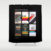 random Shower Curtains featuring Random Memories by Rizki Syahril