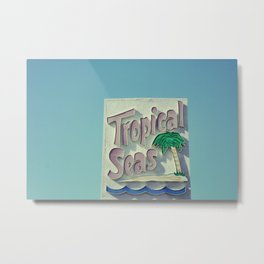 Tropical Seas Metal Print