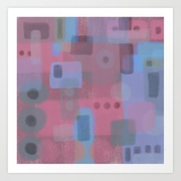 Some of this and that 2 - Abstract Digital Art Art Print