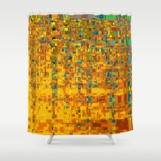 Abstract Klimt Shower Curtain