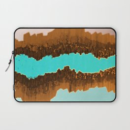 Native American Turquoise & Copper River Laptop Sleeve