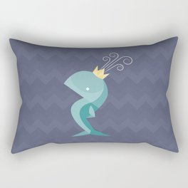 Prince of Whales Rectangular Pillow