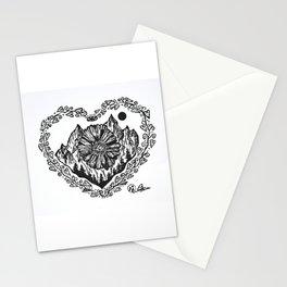 """Heart in the Highlands"" Scotland, Scottish Art, Irish Artwork, Celtic Decor Stationery Cards"