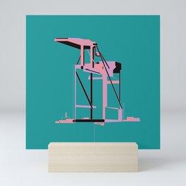 Oakland Crane Mini Art Print