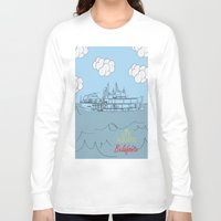 zissou Long Sleeve T-shirts featuring Zissou Boat by Jarom Ward