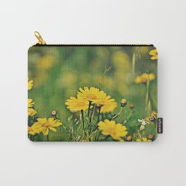 Field of Crown Daisies Carry-All Pouch
