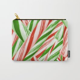 Sweet Swirly Christmas Carry-All Pouch