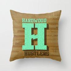 Hardwood Hustlers Throw Pillow
