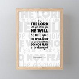 Do Not Fear Framed Mini Art Print
